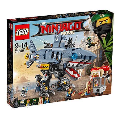 LEGO Ninjago 2018 Ninjago Movie 6-Shark 70656 Building Kit (830 Piece)