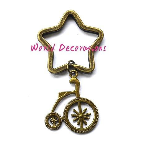Amazon.com: Bicicleta llavero, Paseo En llavero, llavero, de ...