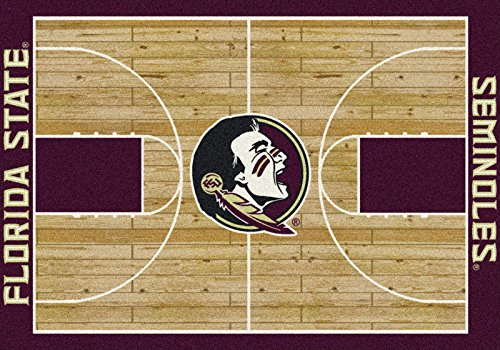 - Milliken 4000018360 Florida State College Home Court Area Rug, 3'10