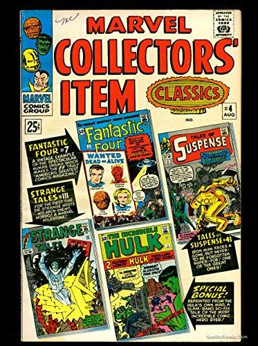 Marvel Collectors Item Classics #4 VF+ 8.5 Tongie Farm Collection Pedigree
