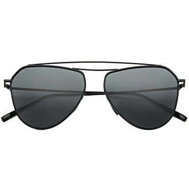 sunglasses aviator style  Amazon.com: SojoS Classic Metal Double Bridge Aviator Style Flash ...