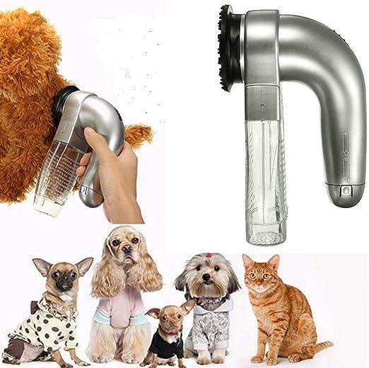 hengbaixin Aspiradora eléctrica portátil para Gatos, Perros ...