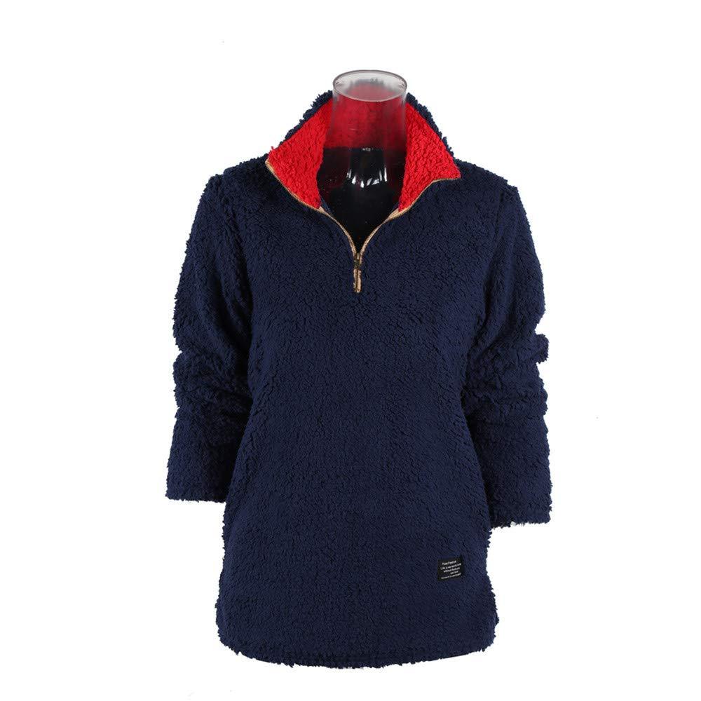 Darringls Chaqueta Mujer Invierno Suéter Cálido Abrigo Jersey Mujer Talla Grande Hoodie Sudadera con Capucha Mujer Caliente y Esponjoso Top: Amazon.es: Ropa ...