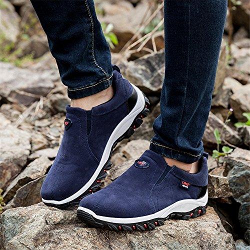 Walking 29 Jogging YMY Sneaker Fashion Mens Blue Running Shoes pwxpB1fXq