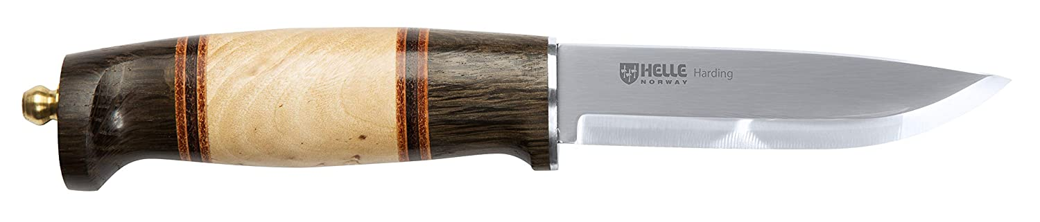 Helle Knives – Harding – Triple Laminated Stainless Steel – Traditional Hunting Knife