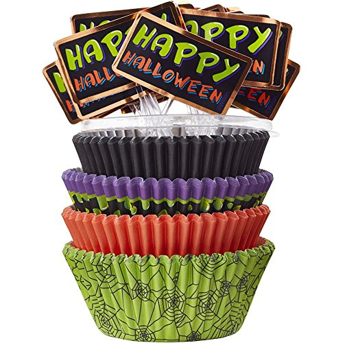 Halloween Cupcake Liners Combo Pack, 150-Count for $<!--$4.49-->