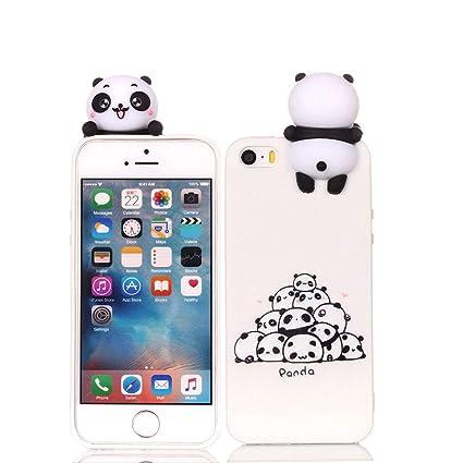 Leton Funda iPhone 5s Silicona 3D Suave Flexible TPU Carcasa ...