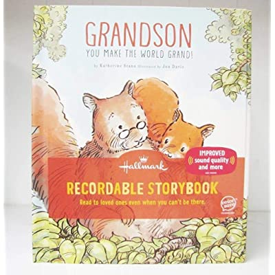 Hallmark KOB8143 Grandson You Make the World Grand Recordable Storybook: Toys & Games