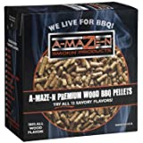 A-MAZE-N 100% Hickory BBQ Pellets - Smoker Chips - Grilling - 2 lb