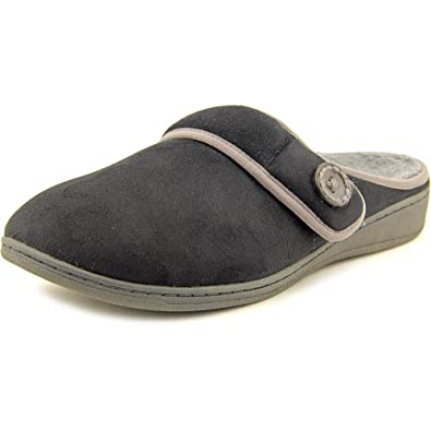 ba30eef7388 Vionic Indulge Laura Women US 11 Black Slipper  Amazon.co.uk  Shoes   Bags