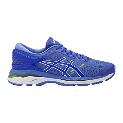 Latest Asics GEL Kayano 24 Blue Purple Regatta Blue White Running Shoes for Women Outlet