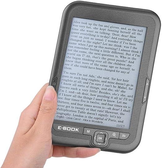 Focket E-Reader, Portátil 6 Pulgadas 800x600 300DPI Lector Libros ...