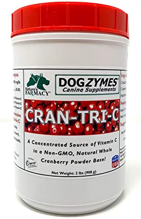 Dogzymes Cran-Tri-C Health Supplement for Dogs, 2 Pounds