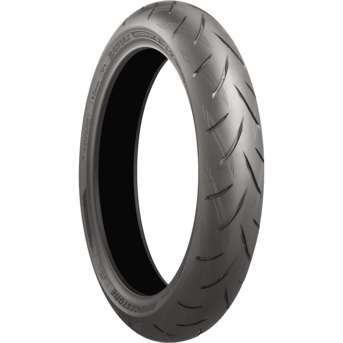 BRIDGESTONE Battlax S21 Hypersport Street Front & Rear Tire Set, 120/70-17 58W & 180/55-17 73W by Bridgestone (Image #1)