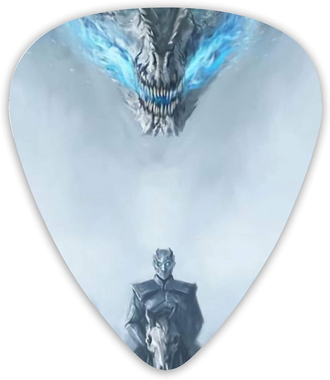 Juego de 12 púas de guitarra de doble cara de Game Of Thrones