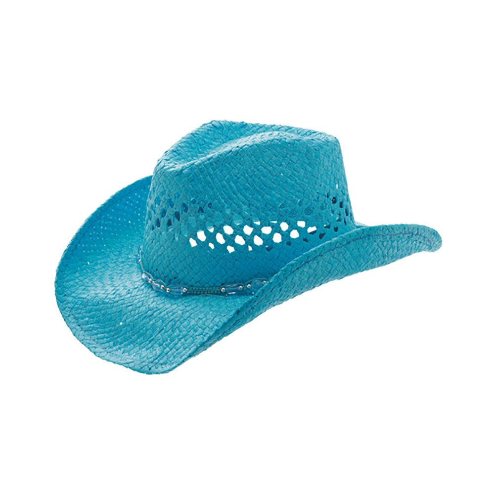 TOP HEADWEAR Outback Toyo Cowboy Hat - Turquoise