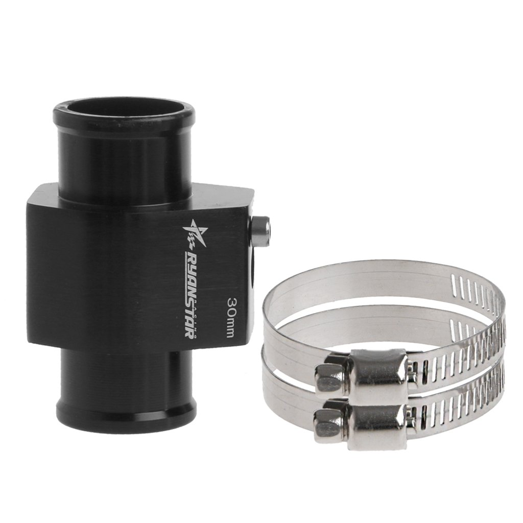 Kangnice Water Temp Temperature Joint Pipe Sensor Gauge Radiator Hose Adapter 28mm