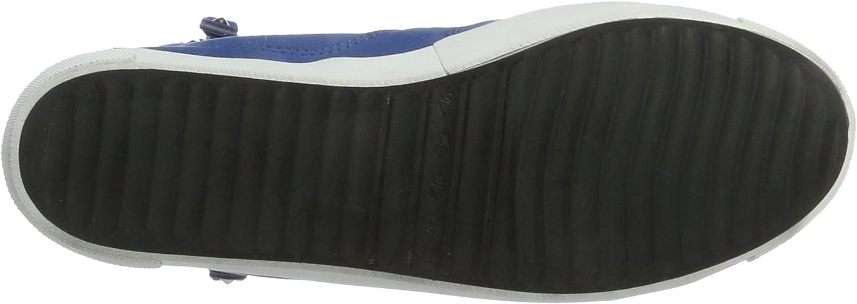 Kennel und Schmenger Queens - Sneaker - Zip, Women's High-top Blau (Azur Sohle Weiss)