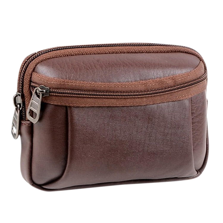 Sanwood Men's Faux Leather Bag Pouch Wallet