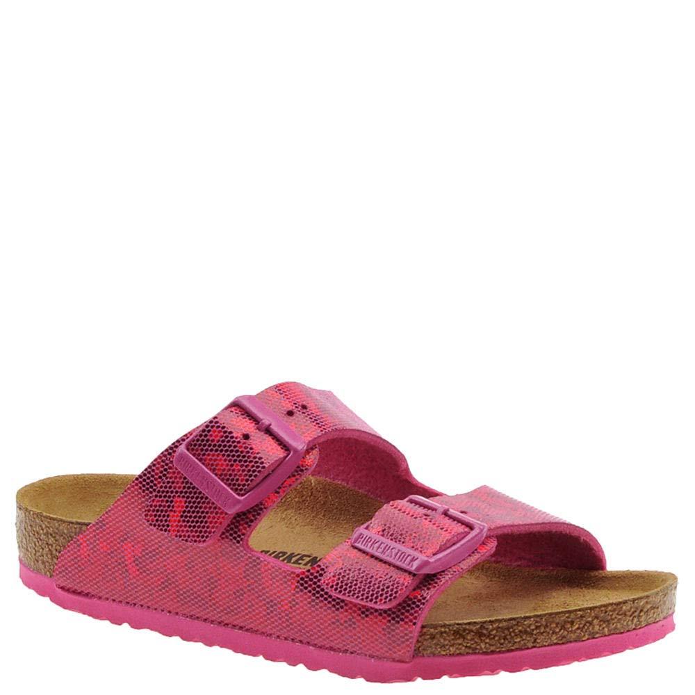 Birkenstock Arizona Kids Hologram Pink Birko-Flor Sandal 27 M EU/9-9.5 US Little Kid