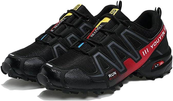 Zapatos De Trail Running para Hombre Al Aire Libre Antideslizante ...