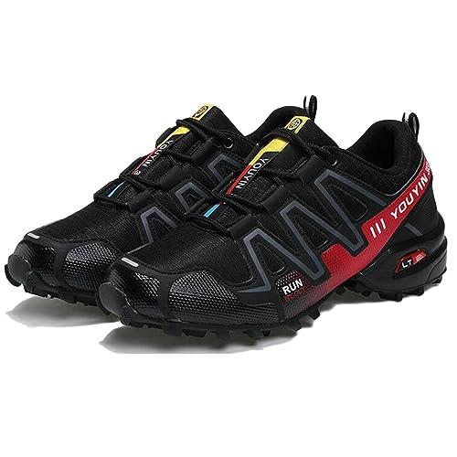 Running Scarpe da Anti Uomo Trail Outdoor da Scarpe Slip Leggero da EErq6fTw c5e482dd28e