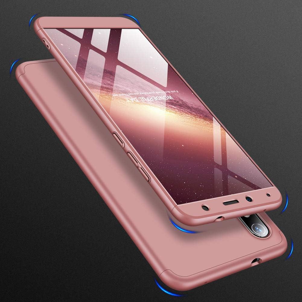 ivencase Funda Xiaomi Redmi 8A Cristal Templado para Xiaomi Redmi 8A Funda 3 in 1 R/ígida PC Protective Anti-rasgu/ños Case Cover Caso