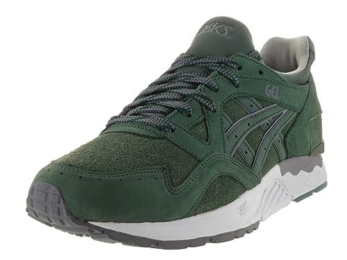 zapatillas asics hombres verdes