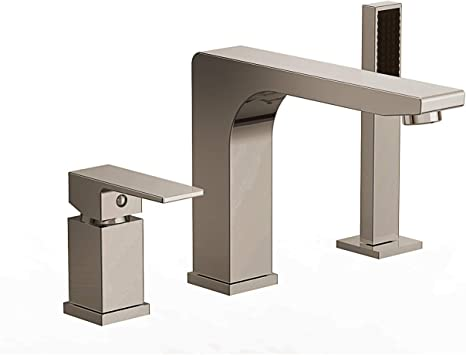 Ultra Faucets Icon Collection Roman Tub Faucet with Hand Shower