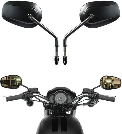 Tcmt 8 Mm Rückspiegel Für Harley Davidson Xl1200l Xl883 Xl883l Sportster Auto