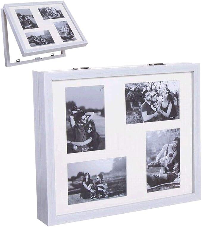 Tapa de contador de luz cubre cuadros electricos multifotos blanca ...