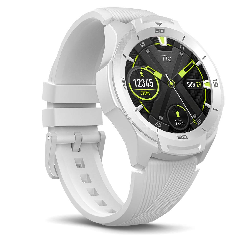 Ticwatch S2 Bianco