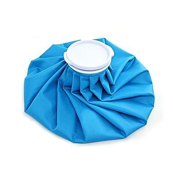 Xcellent Global Bolsa de Tela para Hielo Caliente o Fría de 11 pulgadas Bolsa para Hielo Reutilizable Para Aliviar el Dolor Azul HG098L