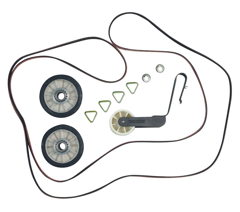 4392065 Dryer Repair Kit for 29-in. Whirlpool Dryers by PartsBroz - Replaces AP3131942, 279435, 279436, 279708, 279709, 279860, 279948, 4392065VP, 587636, 80046, 8106, AH373087, EA373087 & PS373087