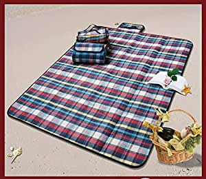 Amazon Com Pony S Premium Plaid Picnic Blanket