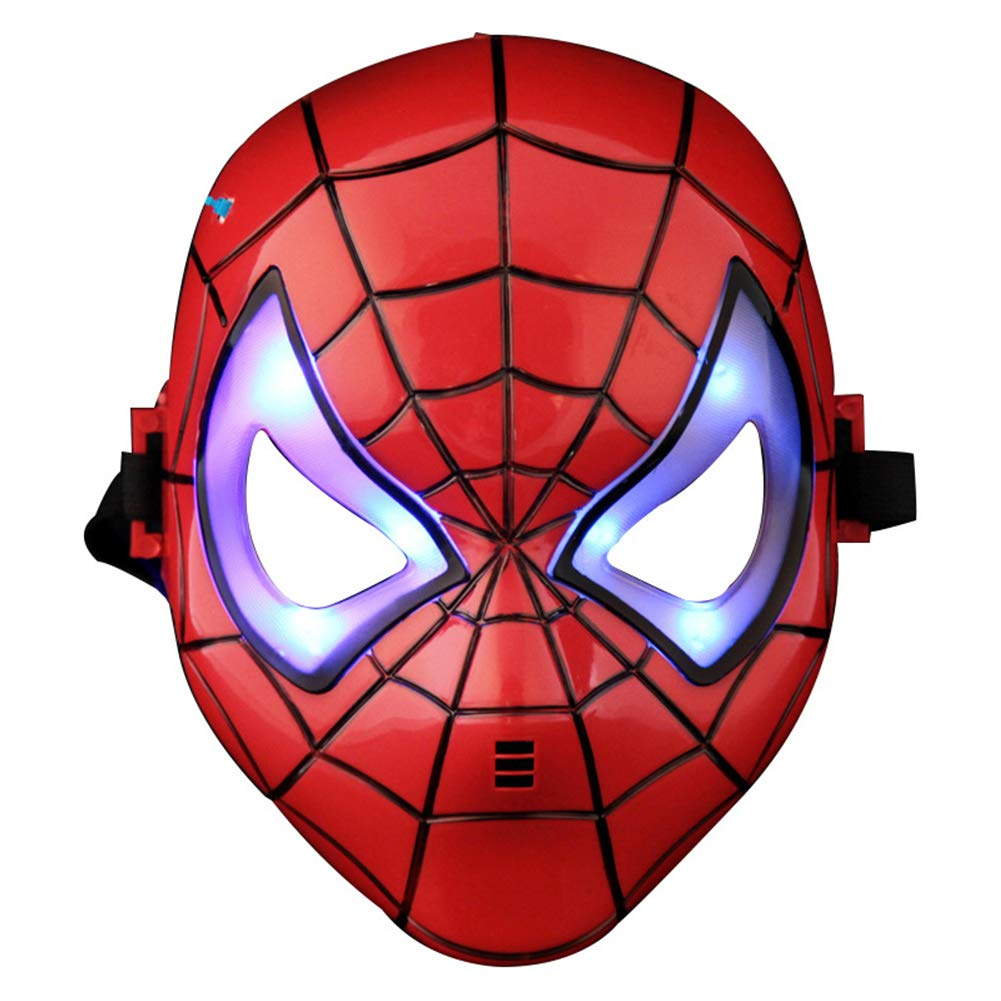AnotherMe 子供用スパイダーマン 光るマスク   B07GVJGCD6