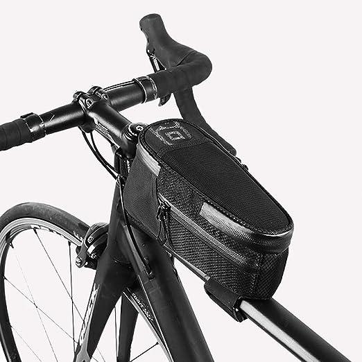 HUAA Bolsa de Manillar de Bicicleta a Prueba de Agua,Bolsa de ...