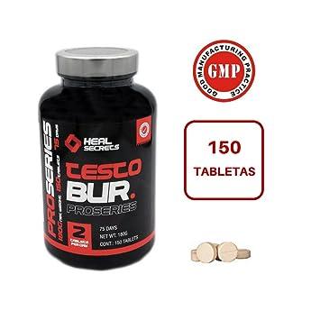 TestoBur suplemento natural para aumentar la Testosterona para deportistas 150 comprimidos Heal Secrets: Amazon.es: Salud y cuidado personal