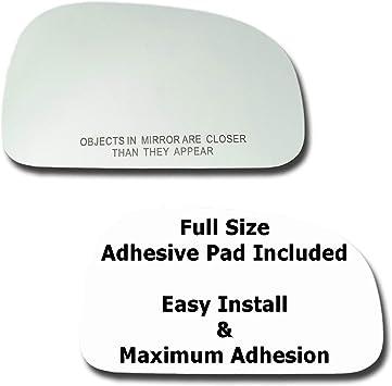 Mirror Glass Replacement Full Adhesive For Hyundai Santa Fe 01-06 Driver Side