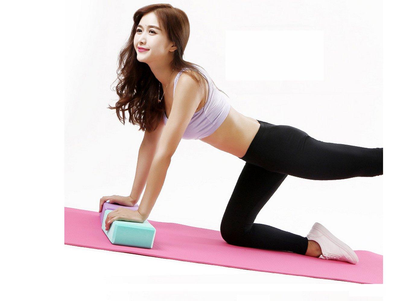 Amazon.com: Bloques de yoga bloques de Yoga espuma ejercicio ...