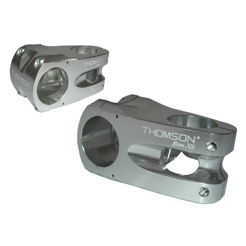 Thomson Rennrad Vorbau Elite X4 Vorbau 0° silber (Vorbaulänge: 50mm)