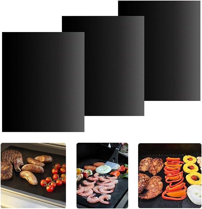 Tapis de cuisson en silicone 48 trous pour four Tapis de cuisson anti-adh/ésif Tapis de cuisson p/âtisserie Outils de cuisson