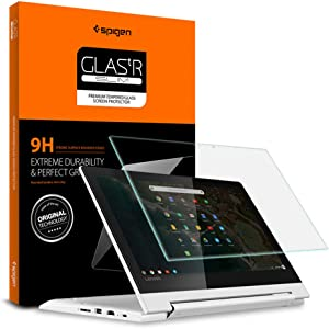 Spigen Tempered Glass Screen Protector Designed for Lenovo Chromebook C330 (11.6 inch) [9H Hardness]