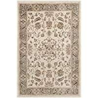Safavieh Vintage Premium Collection VTG168-3410 Transitional Oriental Stone and Mouse Brown Distressed Silky Viscose Area Rug (27 x 4)