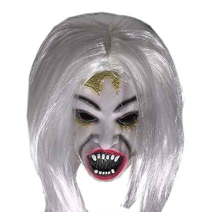 Máscara de miedo mascaras traje máscara de fantasmas cosplay ...