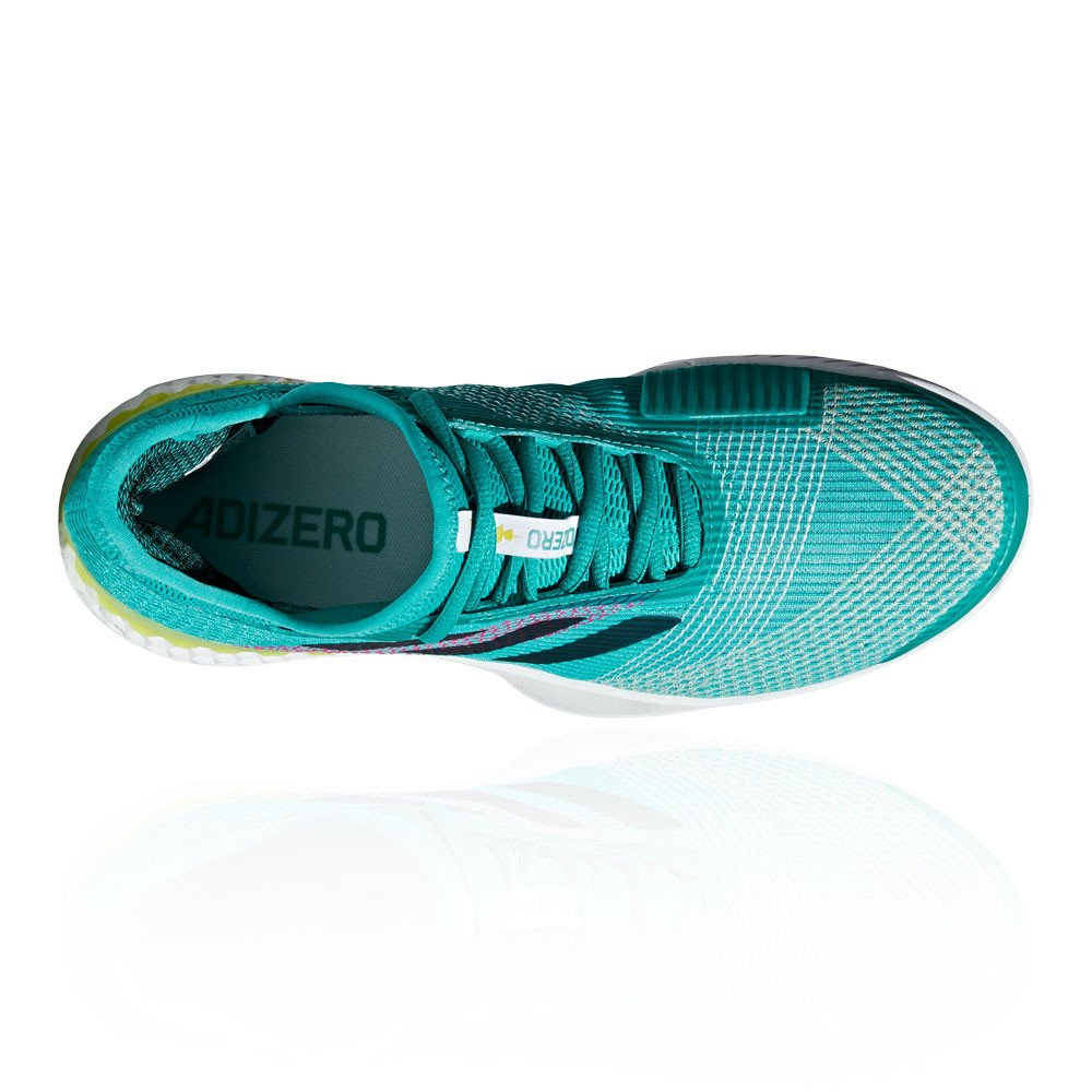 best service 8c7c5 d389d adidas Adizero Ubersonic 3 M, Chaussures de Tennis Homme, Bleu, 40,5.  Agrandir limage