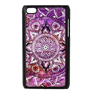 diy zhengiPhone 6 Plus Case 5.5 Inch Generation Back Protective Case - Cute Mandala Pattern Floral Flower Case Perfect as Christmas gift(5)