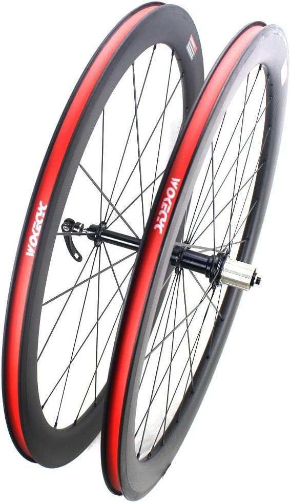 50mm WOKECYC Carbon Bicycle Wheels R13 Hub 700C 25mm width Road bike Wheelset