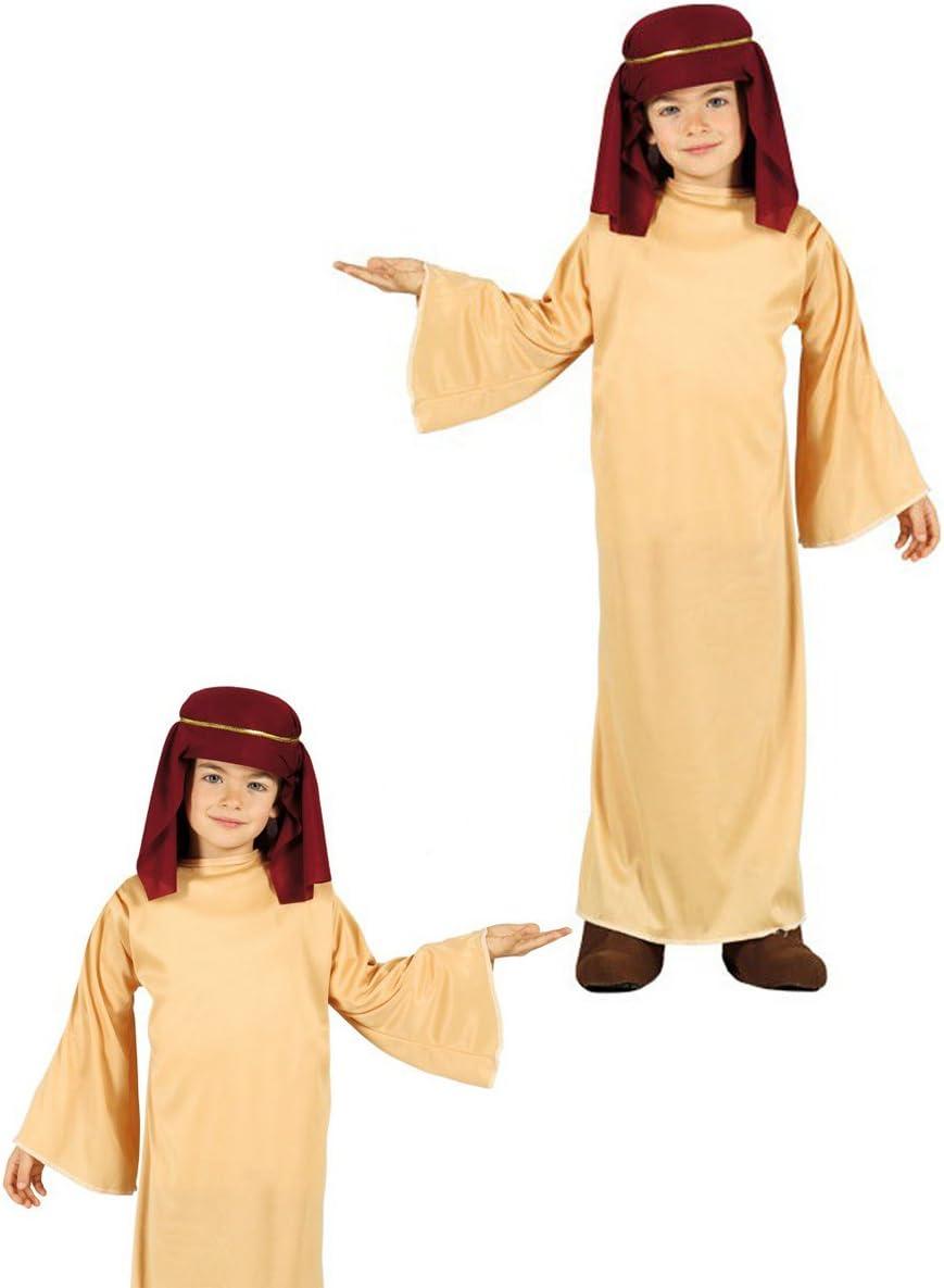 Disfraz de San José infantil 5-6 años: Amazon.es: Juguetes y juegos