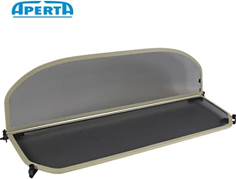 Beige Tailor Made Windblocker Draft-Stop Wind Stop BMW Convertible Aperta Wind Deflector fits BMW 3 Series E93